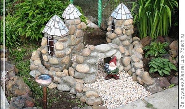 Поделки для сада из камня своими руками фото