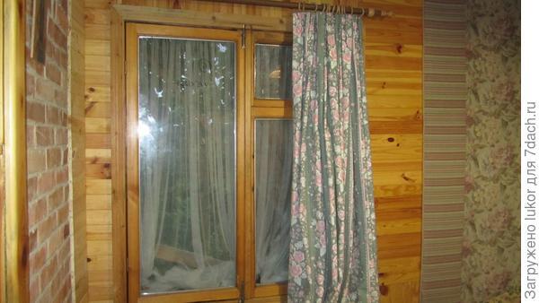 Старое окно с новым стеклопакетом