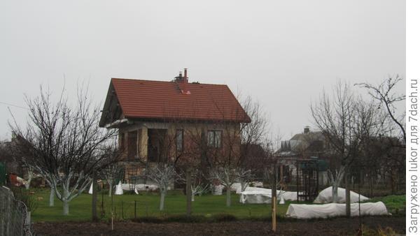 Зимнее укрытие