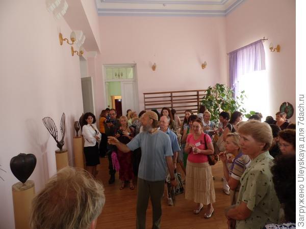 Презентация скульптурного эко-арт проекта В. Скорого «Начала»