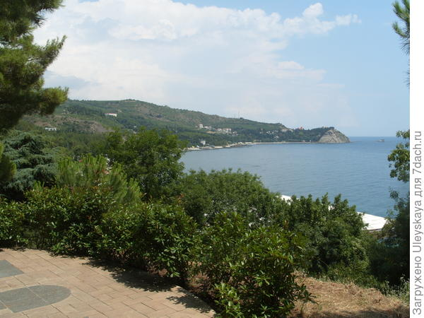 Вид на море