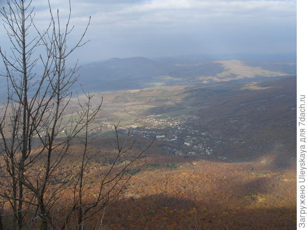 Вид с горы Орлиный Залёт