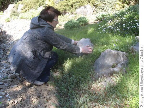 Проверяем: хорошо ли лежит камень?