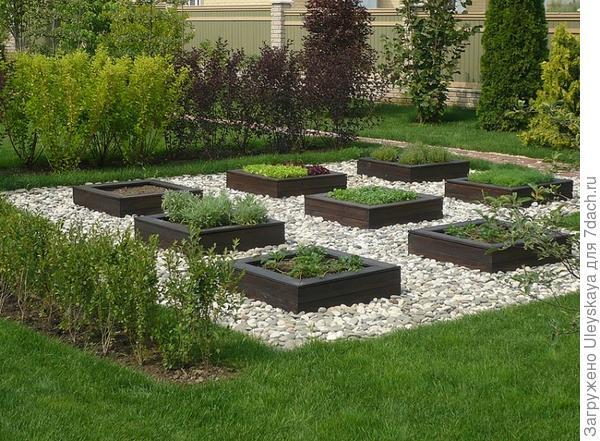 Декоративный огород, фото сайта landscape-project.com
