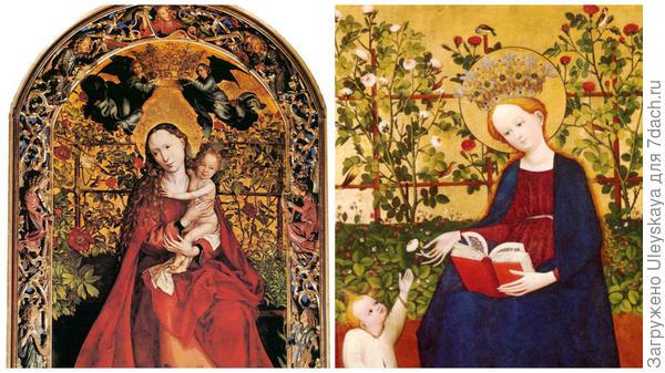 Мадонны и розы, фото сайта wikiwand.com
