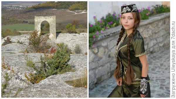 Кыз Куле или Девичья башня в моем объективе и крымская девушка татарка, фото сайтаTurLocman.ru