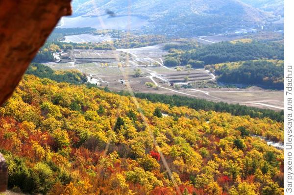 Золотая осень в горах Крыма