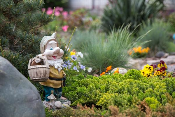 Поселите в саду гномов