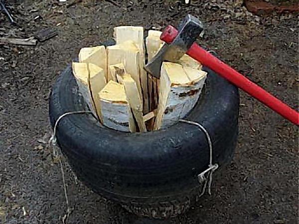 Как сделать колоть дрова