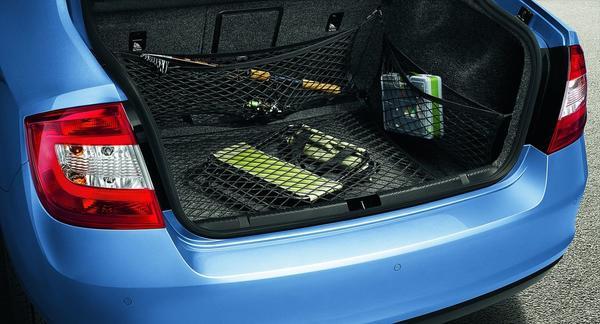 Сетки в багажник помогут надежно закрепить груз
