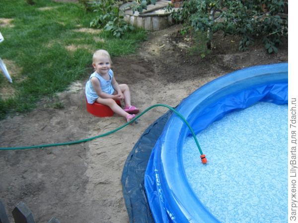 Уход за надувным бассейном на даче своими руками 98