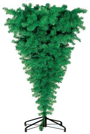 перевернутая елка