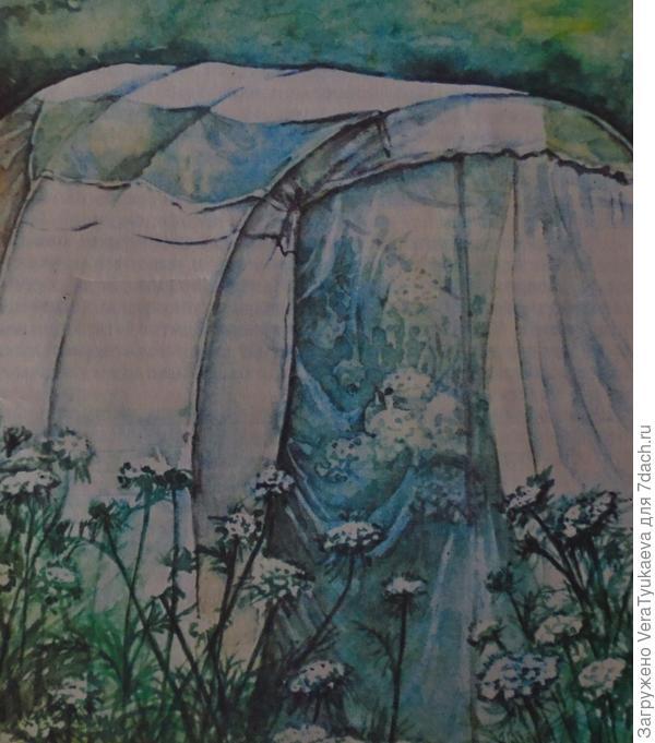 Так могут выглядеть укрытия для цветущих маточных растений.