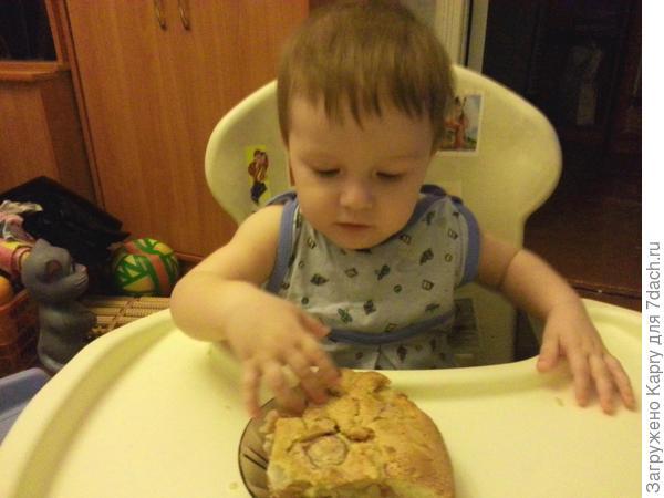 Пирожок Таю во рту