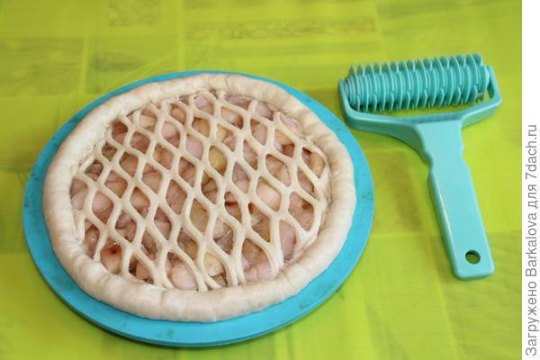 Как сделать сеточку для пирога