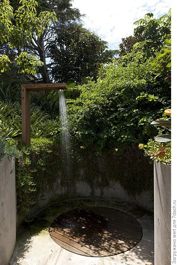 Идеи для летнего душа на даче