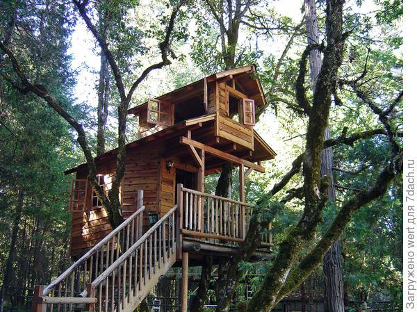 Как сделать домик на дереве мне 13