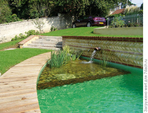 Ландшафтный бассейн