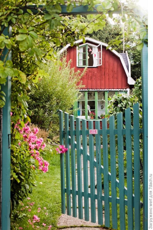 Дачный домик в шведской провинции