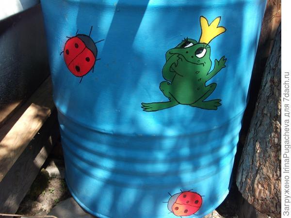 3. Царевна лягушка и божьи коровки