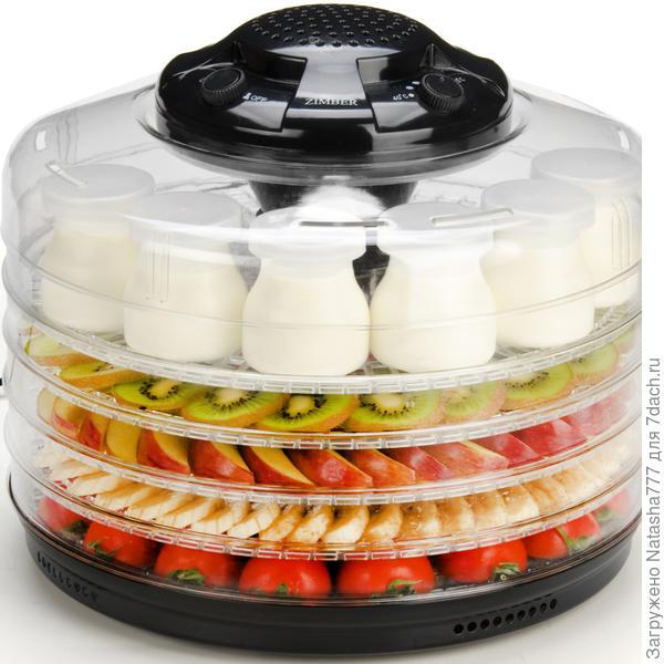 сушилка для овощей и фруктов и йогуртница