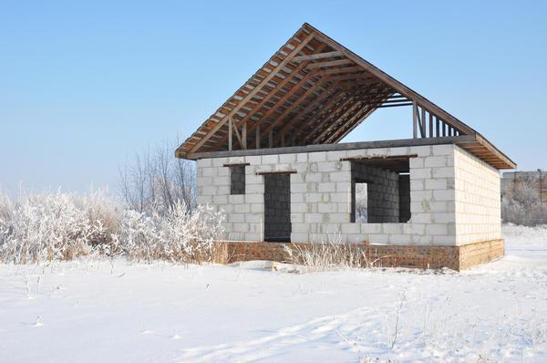 Строительство нового дома из автоклавного газобетона