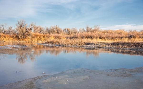 Опасность льда на реке неизмеримо выше, чем в озере