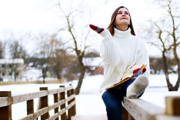 Заменить интеллектуально-дачные упражнения зимой можно чтением