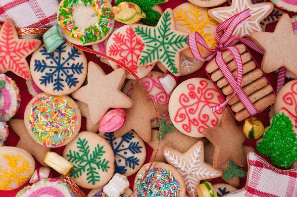 Игрушки из печенья