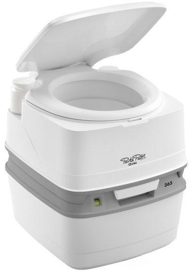 Биотуалет Porta Potti Qube 365. фото с сайта http://www.jacksons-camping.co.uk/