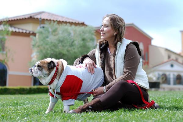 Для женщины её собака почти всегда является неким символом мужчины