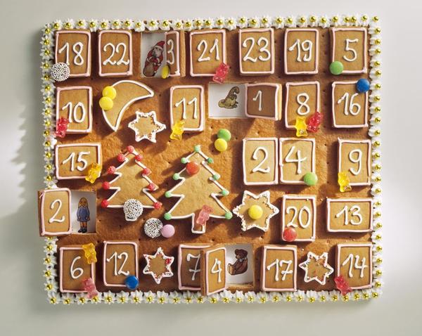 Рождественский календарь или календарь ожидания Рождества