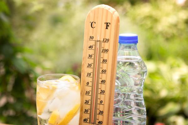 В жару не забывайте про минеральную воду