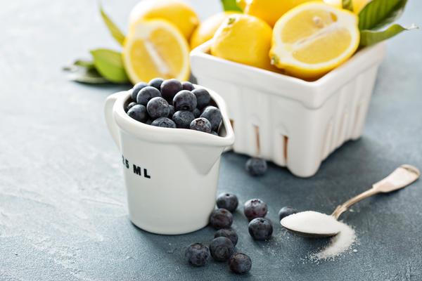 Варенье из черники с лимоном