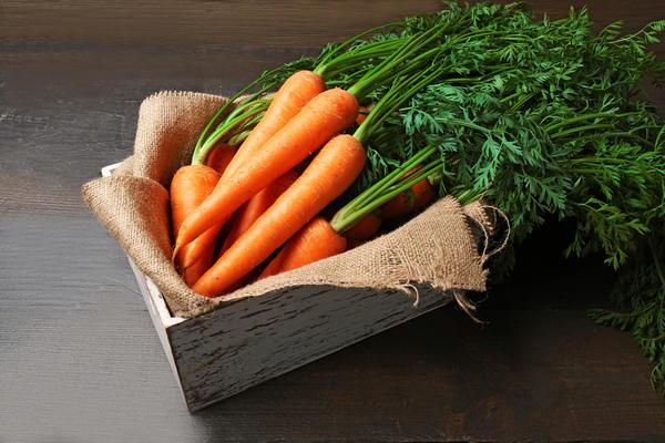 Морковь, подготовленная для хранения