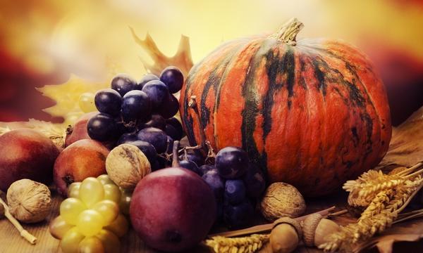 Варенье из винограда с яблоками, тыквой и коньяком