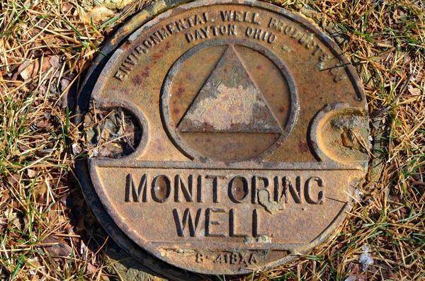 Скважина для наблюдения за уровнем грунтовых вод
