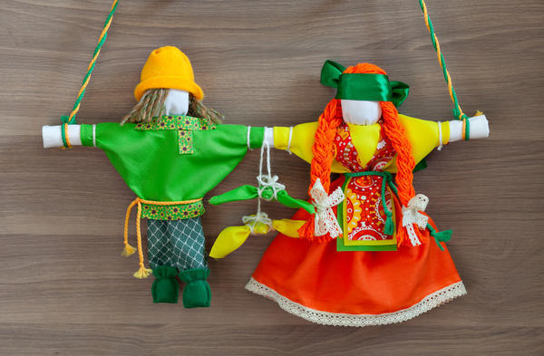 Куклы-неразлучники - символ крепкого брака