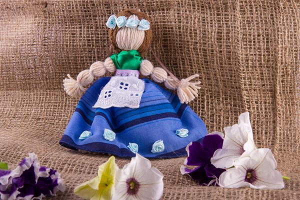 Кукла-мотанка - оберег на здоровье