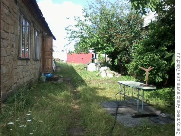 это взгляд со стороны огорода