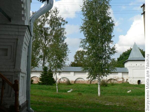 Северная стена монастыря