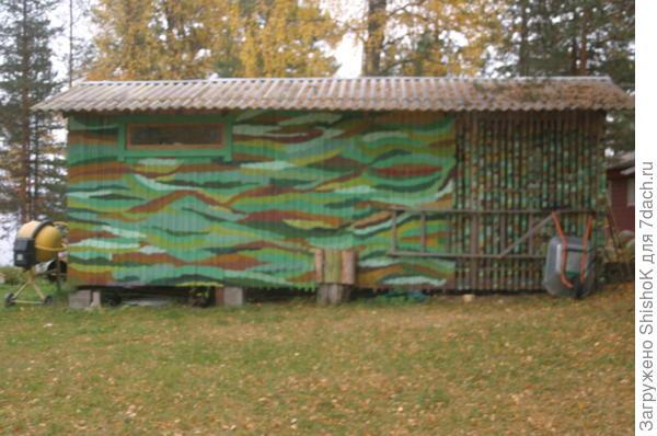 Хозяйственная постройка: мастерская, дровяной сарай, электрогенераторная, садовый туалет