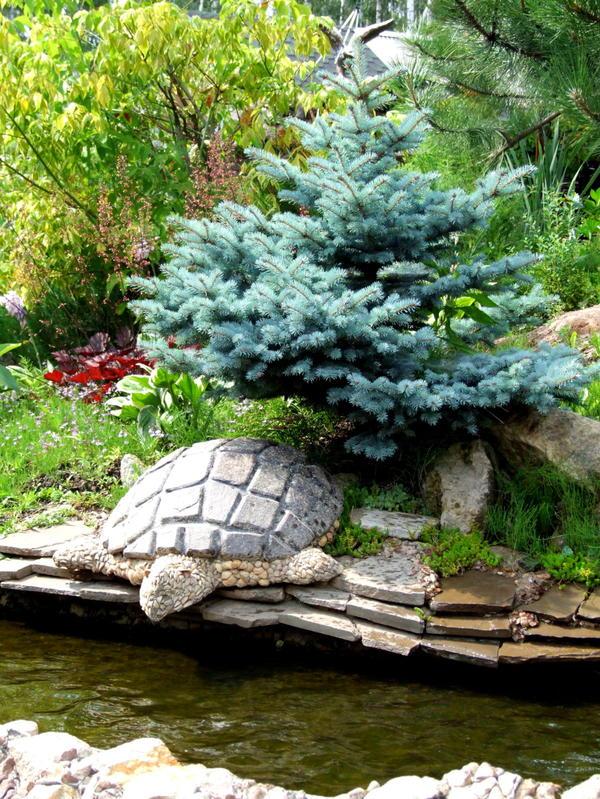 Украсьте сад камнями
