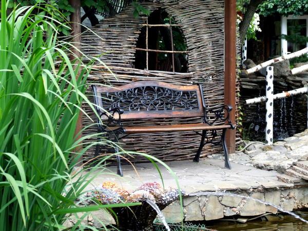 Экзотический сад