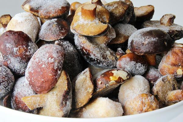 Свежезамороженные грибы