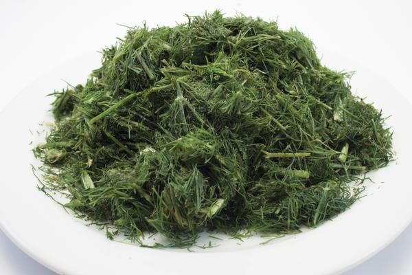Замороженная зелень сохраняет и свойства, и запах