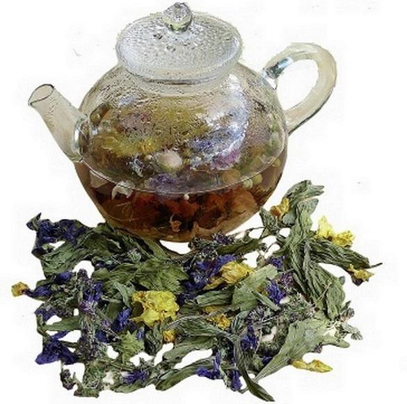 Грудной чай для защиты бронхов и слизистых оболочек