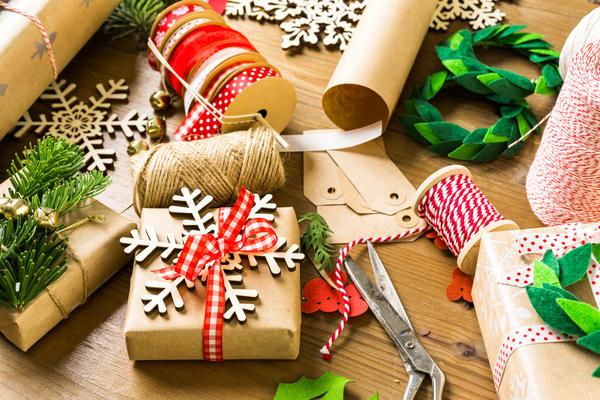 Новогодняя упаковка и открытки своими руками