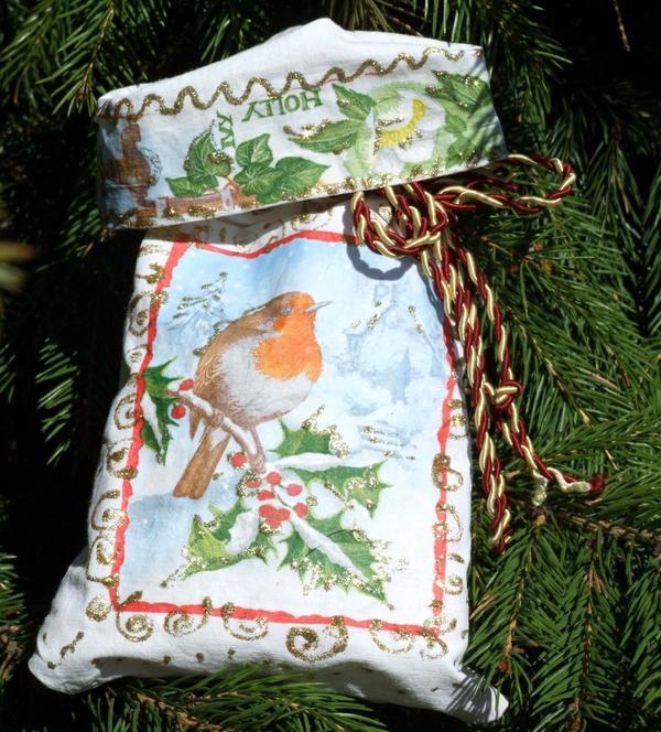 Мешочек для подарка Зимнее утро