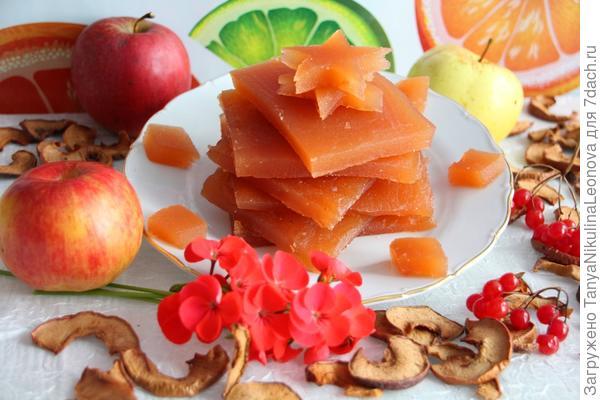 Мармелад яблочный